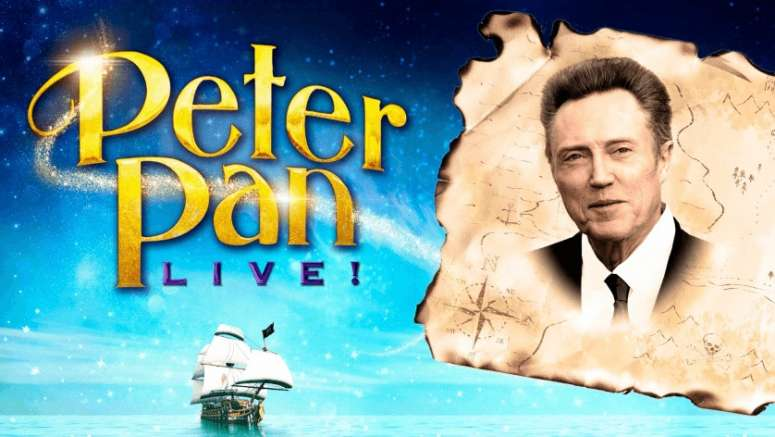 Christopher Walken will be Captain Hook in NBC's live 'Peter Pan'
