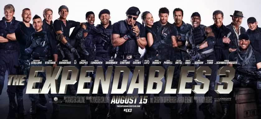 <em>Expendables 3</em> is a simple yet nostalgic thrill ride