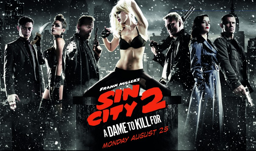 <em>Sin City: A Dame to Kill For</em> is bland yet bearable