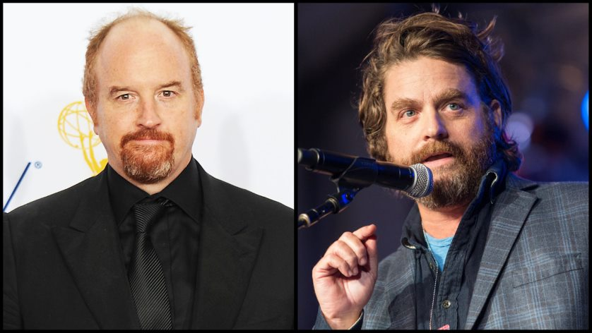 Zach Galifianakis and Louis CK clown show sounds ridiculously funny