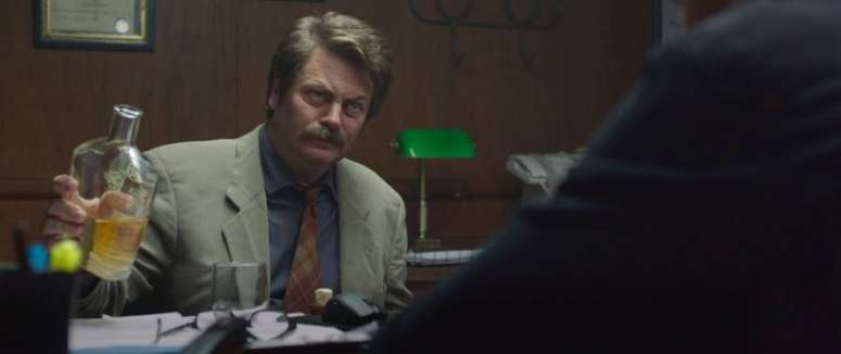 'Believe Me' features Ron Swanson aka Nick Offerman in a spiritual role