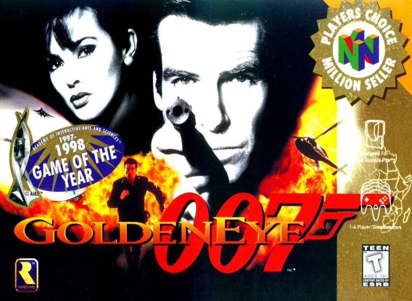 Jimmy Fallon gets Pierce Brosnan to play N64 <em>Goldeneye</em>