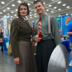 Howard Stark Peggy Carter #BCC2014