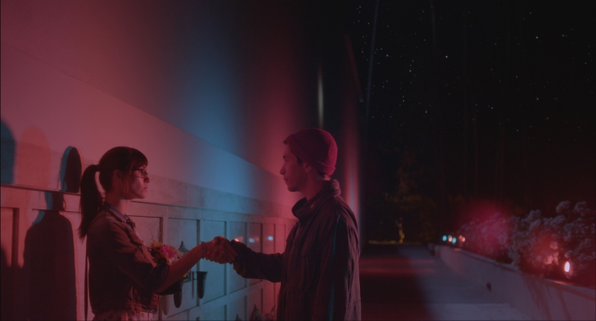 <em>Comet</em> trailer stars Emmy Rossum & Justin Long in Surreal Love Story