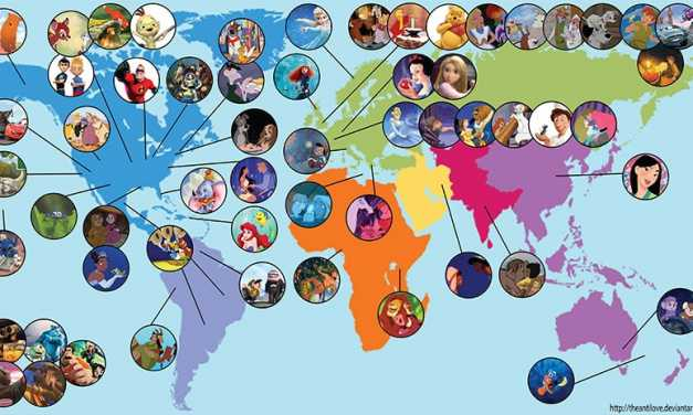 This Disney Map Shows Every Character Location