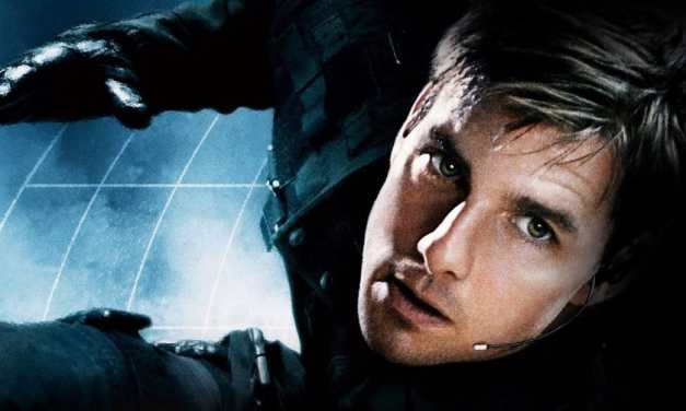"Leaked photos show Tom Cruise in insane ""Mission Impossible"" stunt"