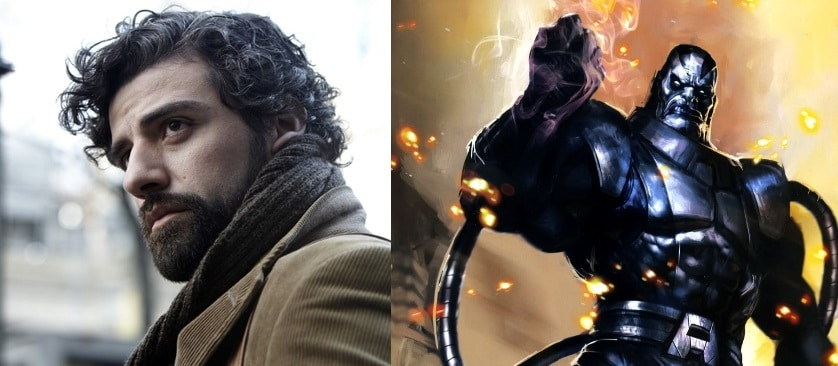 "Oscar Isaac to play the villain in ""X-Men: Apocalypse"""