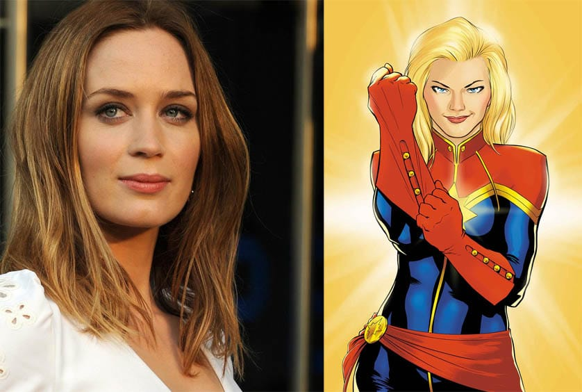 Emily Blunt turned down two Marvel roles