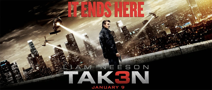 12 Skills of Christmas <em>Taken 3</em> Trailer