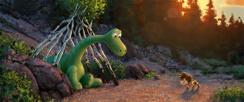 Pixar's <em>The Good Dinosaur</em> trailer asks, 'What if Dinosaurs lived?'