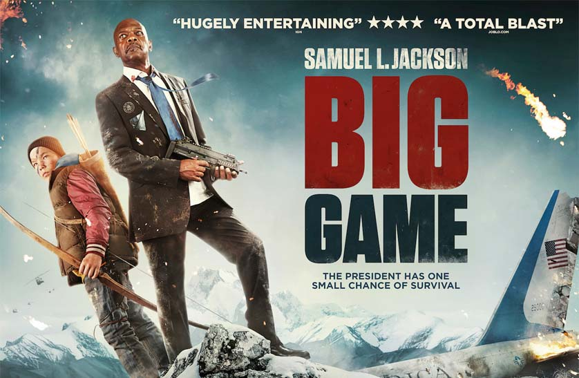 Samuel L Jackson returns in <em>Big Game</em> trailer