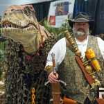 Jurassic Park Raptor Wizard World Raleigh March 2015