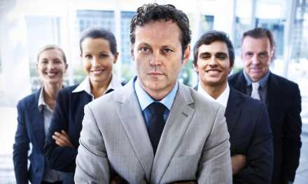 <em>Unfinished Business</em> Cast Poses for Silly Stock Photos