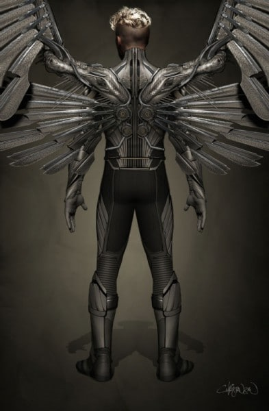 <em>X-Men: Apocalypse</em> Archangel costume concept revealed