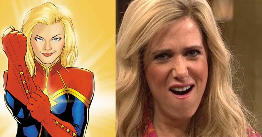 Kristen Wiig is the Avengers Captain Marvel