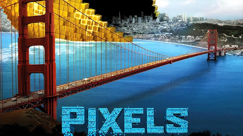 Second trailer for <em>Pixels</em> is hilarious eye candy!