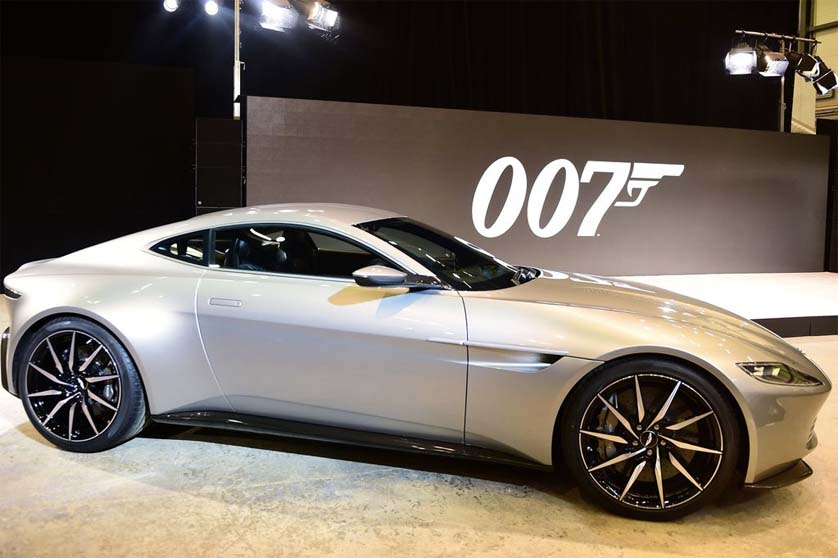 James Bond <em>SPECTRE</em> footage reveals new super cars