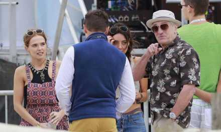 Zoey Deutch spotted with Robert DeNiro for the comedy <em>Dirty Grandpa</em>