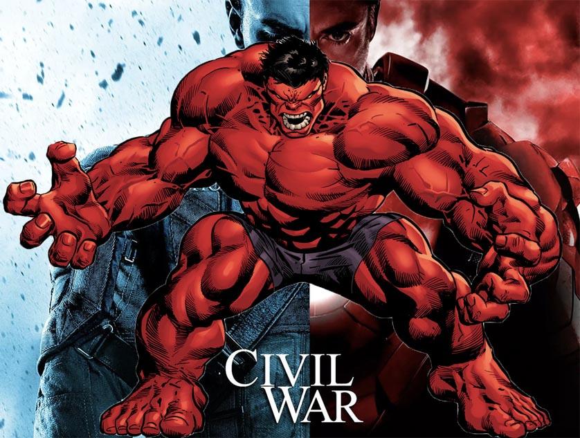 Rumor: Red Hulk Coming To 'Captain America Civil War'