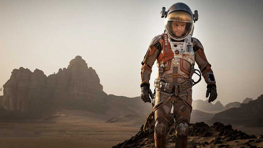 The Martian leaves Matt Damon stranded on Mars