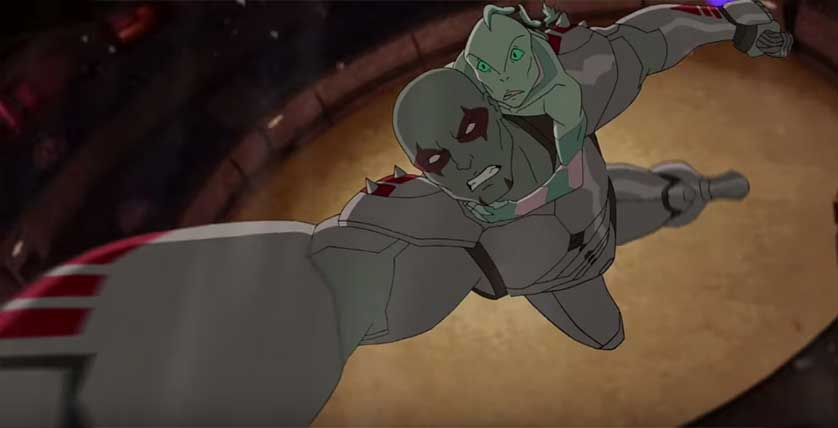 'Guardians of the Galaxy' Animated Short Reveals Drax Origin Story