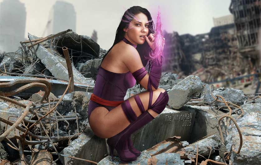 Olivia Munn Shows Off Her Psylocke Moves for 'X-Men: Apocalypse'
