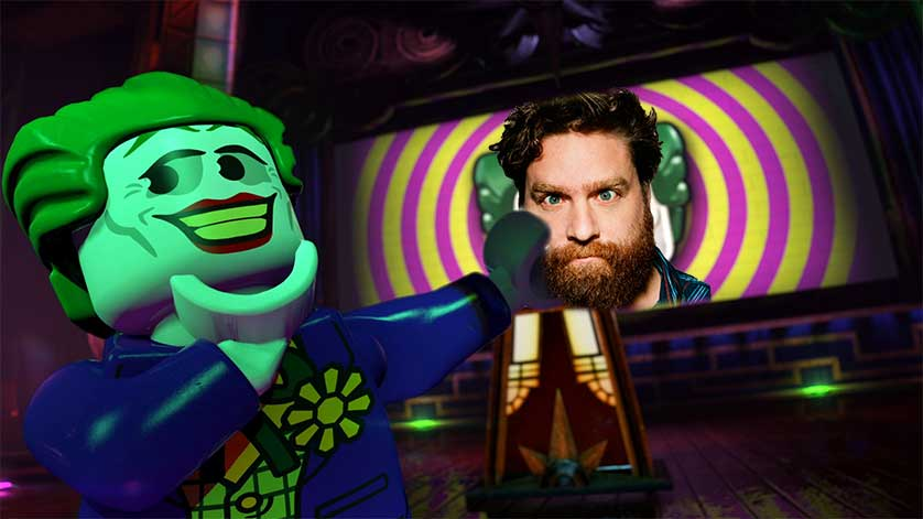 Zach Galifianakis to Voice the Joker in Lego Batman Movie