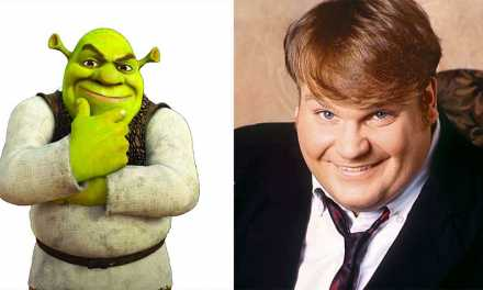 Chris Farley Read for Shrek Check out the Footage Here!