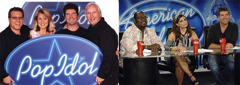 Pop Idol Vs American