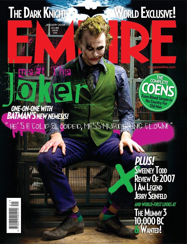 Jared Leto S Joker Kills New Empire Magazine Cover Filmfad Com