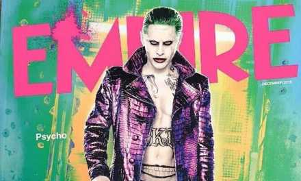 Jared Leto's Joker Kills New Empire Magazine Cover