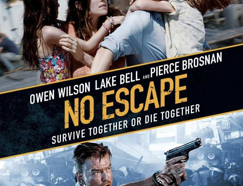 Blu-ray Review: 'No Escape' is an Action Packed Thrill Ride