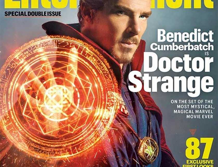 Benedict Cumberbatch in Full Doctor Strange Attire Revealed