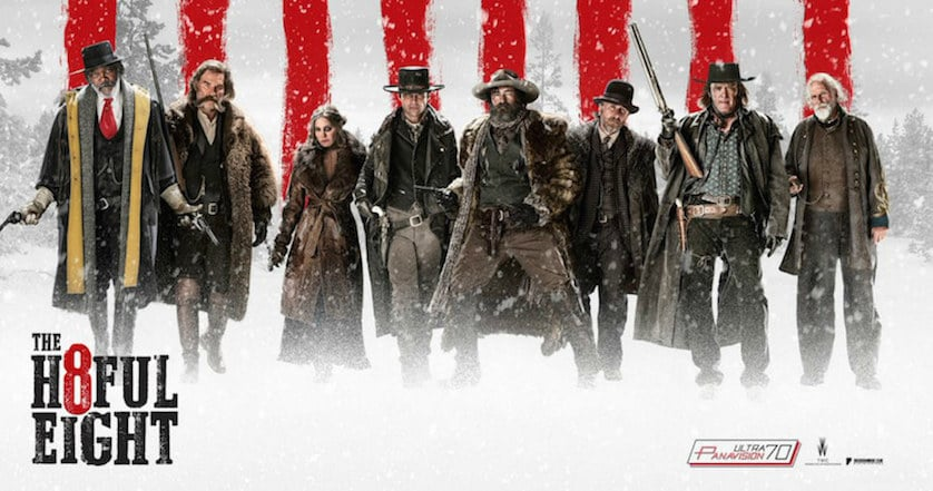 'Hateful Eight' Roadshow Cities Revealed