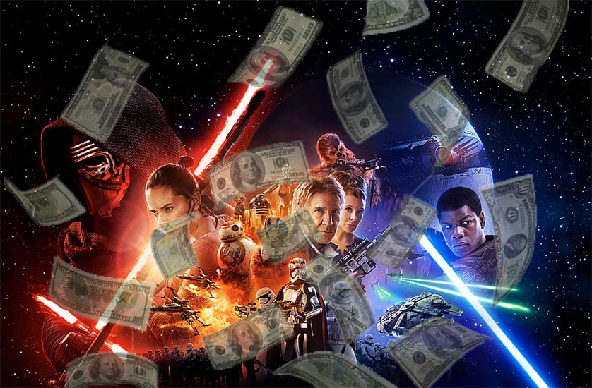 'Star Wars The Force Awakens' Numbers are a Bit Insane