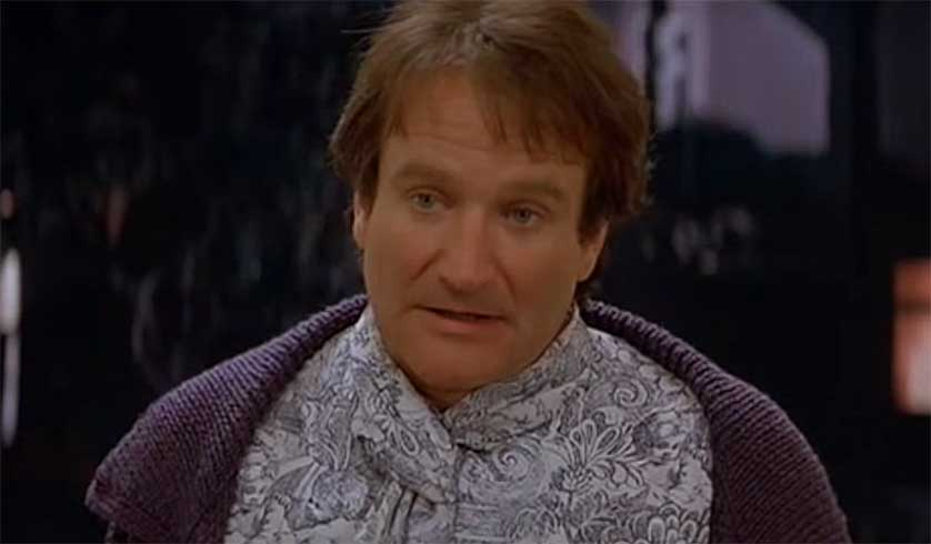 Lost 'Mrs. Doubtfire' Footage is an Emotional Robin Williams Revisit