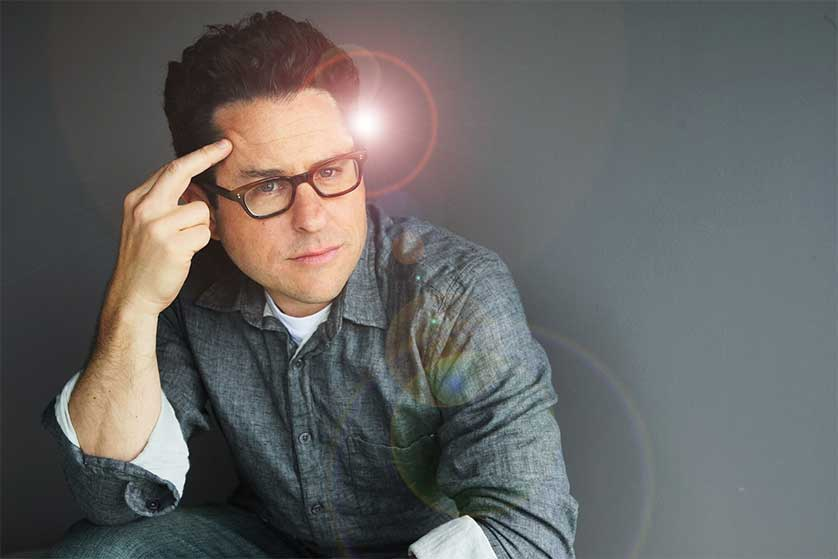 J.J. Abrams Told Colbert His Wife Got Him to 'Lay Off Lens Flare'