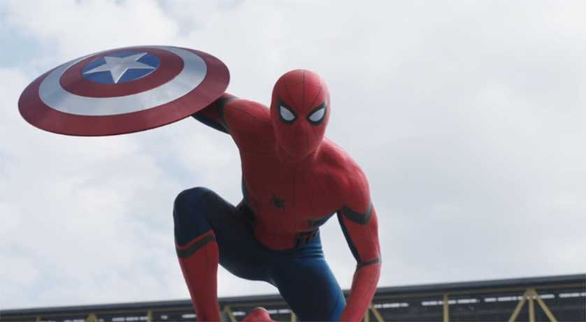 Spider-Man Debuts in 'Captain America Civil War' Trailer