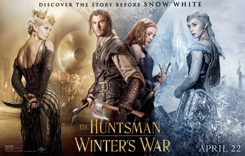 Review: 'Huntsman Winter's War' is Contrived Fun