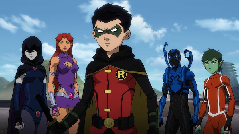 Review: DC 'Justice League Vs Teen Titans' Brings War Home