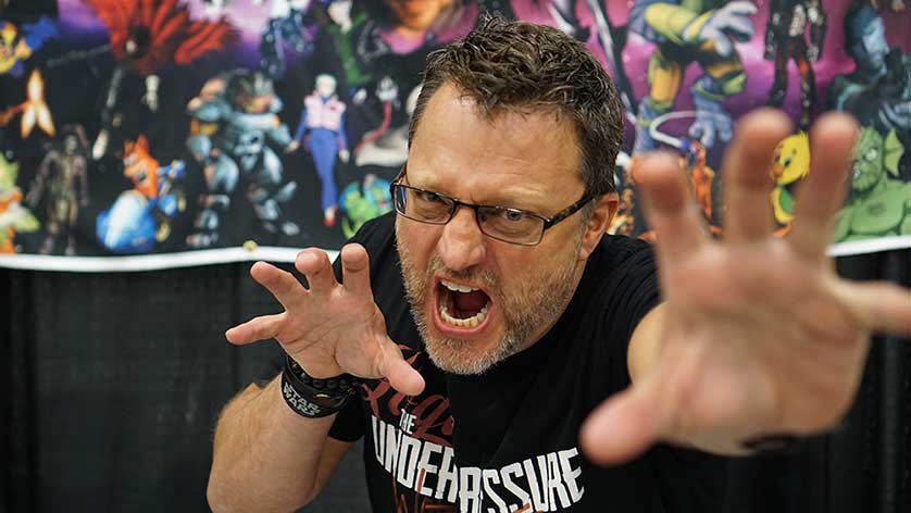 Exclusive: Steve Blum Talks Voice Acting and Who He Would Like to Voice at Tidewater Comicon