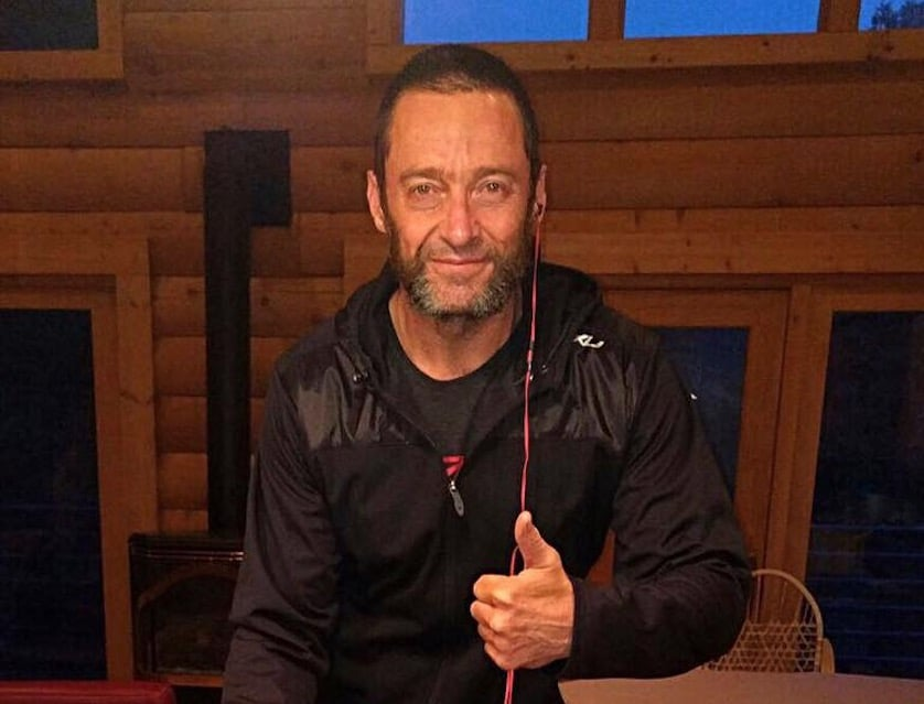 Did Hugh Jackman Just Leak Old Man Logan 'Wolverine 3' Pic?