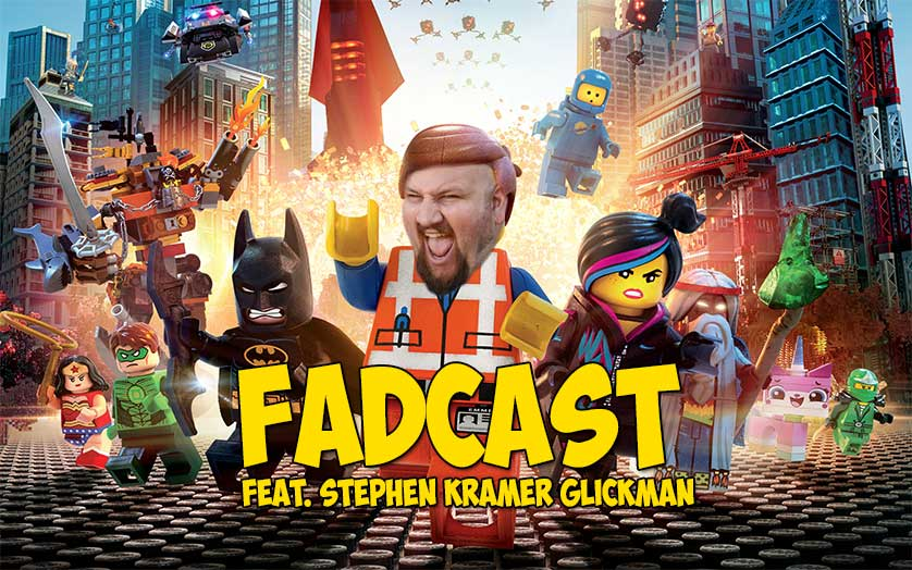 FadCast Ep. 107 | Kid Friendly Adult Humor Films ft. Stephen Kramer Glickman