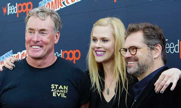 Exclusive: John C. McGinley & Janet Varney Talk 'Stan Against Evil', Staying Tough, And Getting Gory