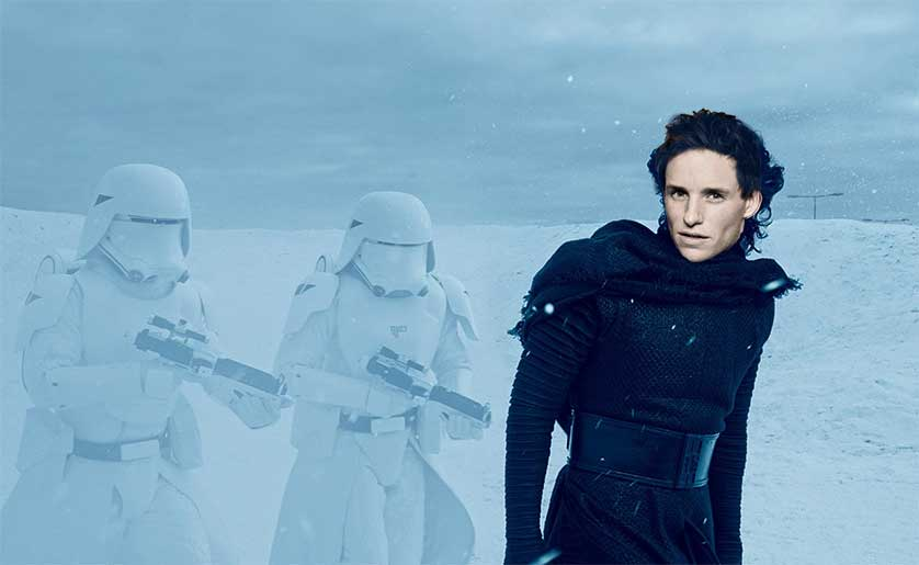 Eddie Redmayne Could Have Been Kylo Ren In 'Star Wars: The Force Awakens'