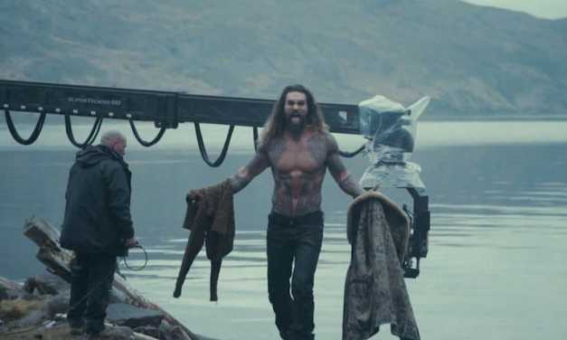 Unseen 'Justice League' Jason Momoa Aquaman Pics Released