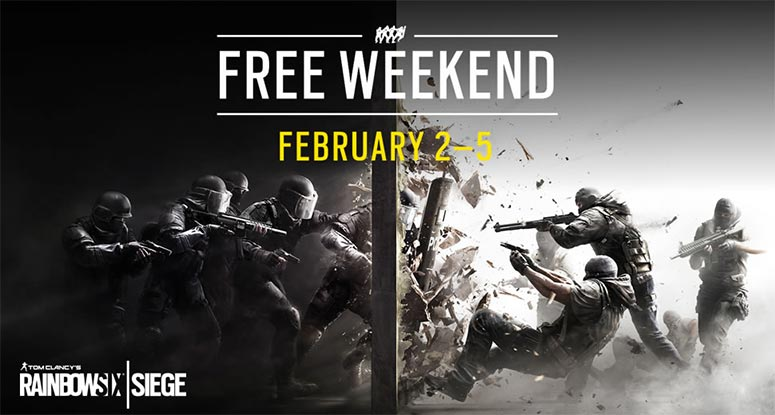 Tom Clancy's 'Rainbow Six Siege' Free To Play February 2nd Through 5th