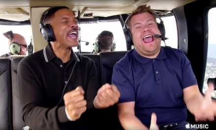 "Will Smith, James Corden Rap ""Fresh Prince"" & Sing R. Kelly Flying A Helicopter In New ""Carpool Karaoke"" Trailer (VIDEO)"