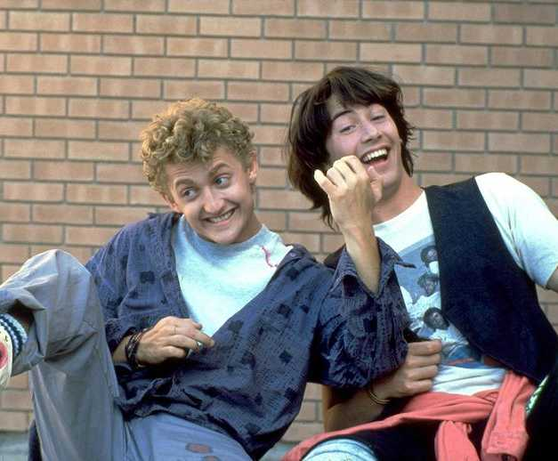 "Keanu Reeves Says ""Bill & Ted 3"" Is Happening, And The Plot is Out Of This World"