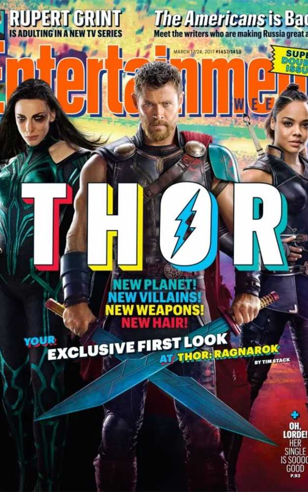 New 'Thor Ragnarok' Show Off Thor's New Hairstyle, Jeff Goldblum, And More